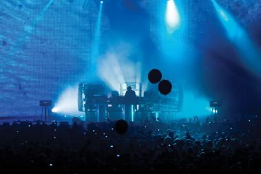Sonar by Night: The Chemical Brothers