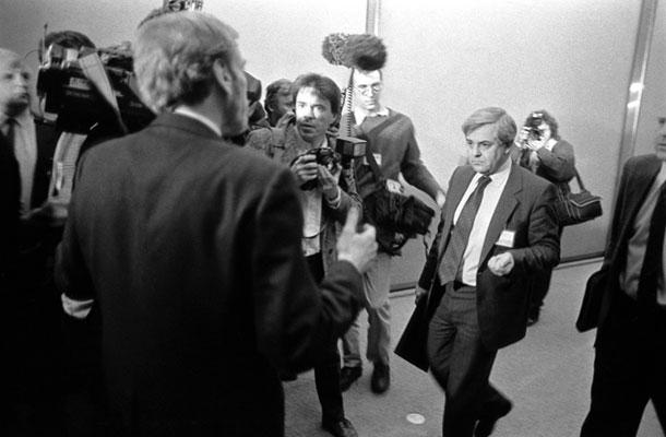 Odhod Milana Kučana s kongresa