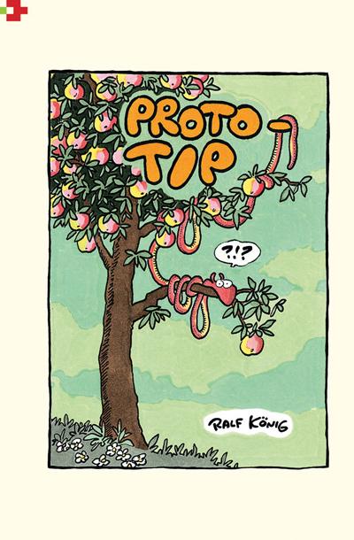 Naslovnica Königovega stripa Prototip, ki je lani izšel tudi pri nas