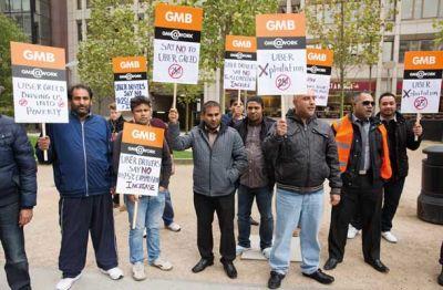 Londonski Uberjevi vozniki so 12. novembra protestirali proti zvišanju provizije z 20 odstotkov na 25. Vozniki naj bi s tem izgubili 50 funtov (70 evrov) na teden, Uber pa naj bi na leto zaslužil 70 milijonov evrov več.