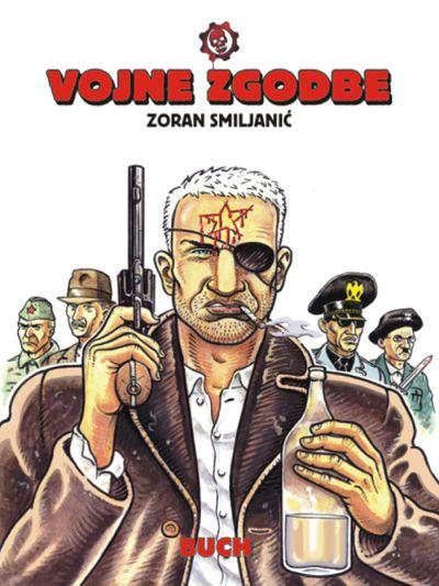 Naslovnica zbirke stripov Vojne zgodbe