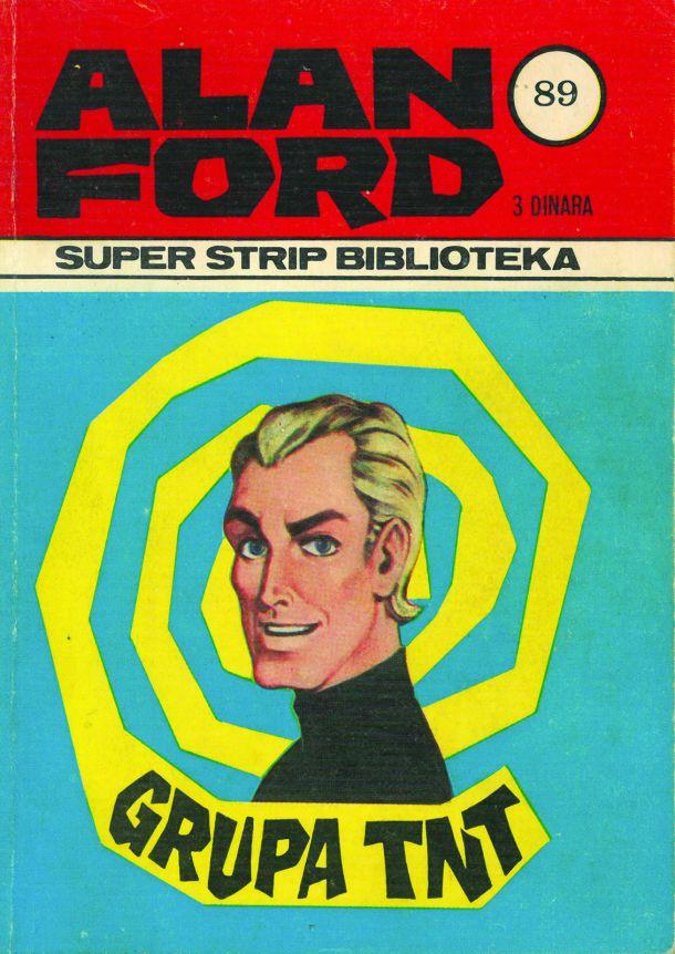 Alan Ford, prva jugoslovanska izdaja, 1970