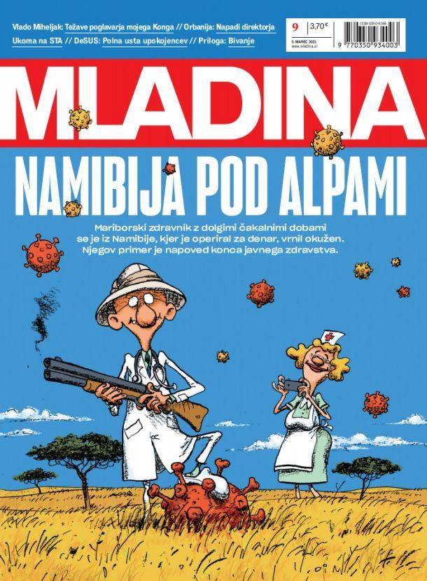 MLADINA 9 2021: NAMIBIJA POD ALPAMI