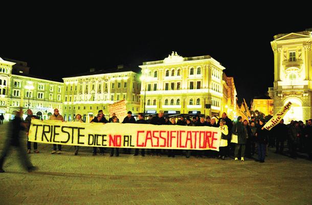 Tržaški protest proti terminalu