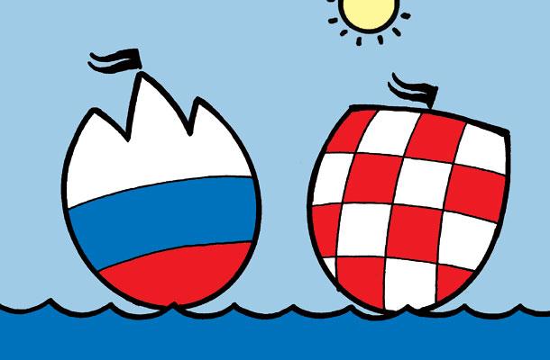 Rezultat iskanja slik za spor hrvaška slovenija slike