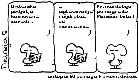 izstop iz EU pomaga k pravni državi