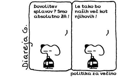 politika za večino