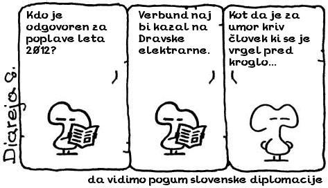 da vidimo pogum slovenske diplomacije