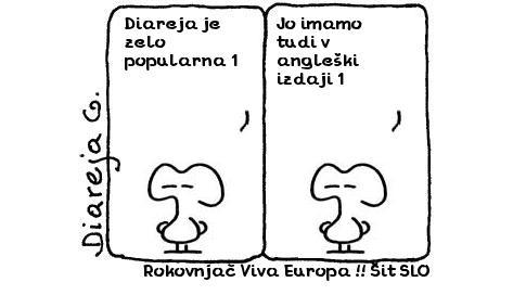 Rokovnjač Viva Europa !! Šit SLO