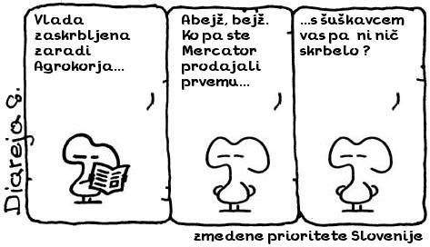 zmedene prioritete Slovenije