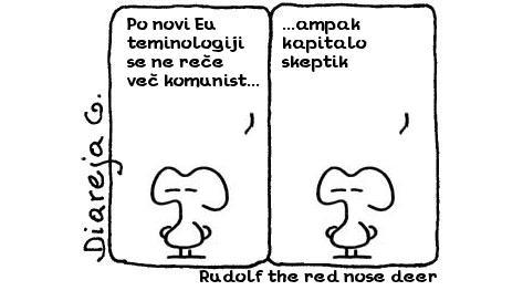 Rudolf the red nose deer